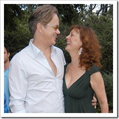 Tim Robbins, Susan Sarandon== ART FOR LIFE benefit for the RUSH PHILANTHROPIC ARTS FOUNDATION hosted by Russell and Kimora Lee Simmons== Russell and Kimora Lee Simmons Home, East Hampton, NY== July 29, 2006== ©Patrick McMullan== Photo-Patrick McMullan/PMc== ==