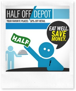 halfoffdepot thumb WAFs Five for Friday   a full life at half the price, ecofabulous fashions, healthy hounds...