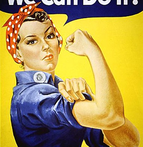 RosietheRiveter Fear, the final frontier: Why women are bad at networking