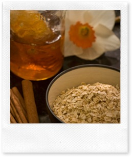 honey and oatmeal