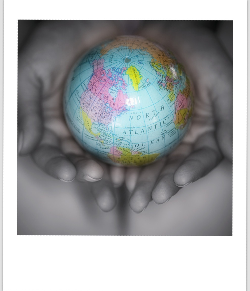 whole world in our hands Five for Friday Sneak Peek: The Something Good   Earth Day Edition