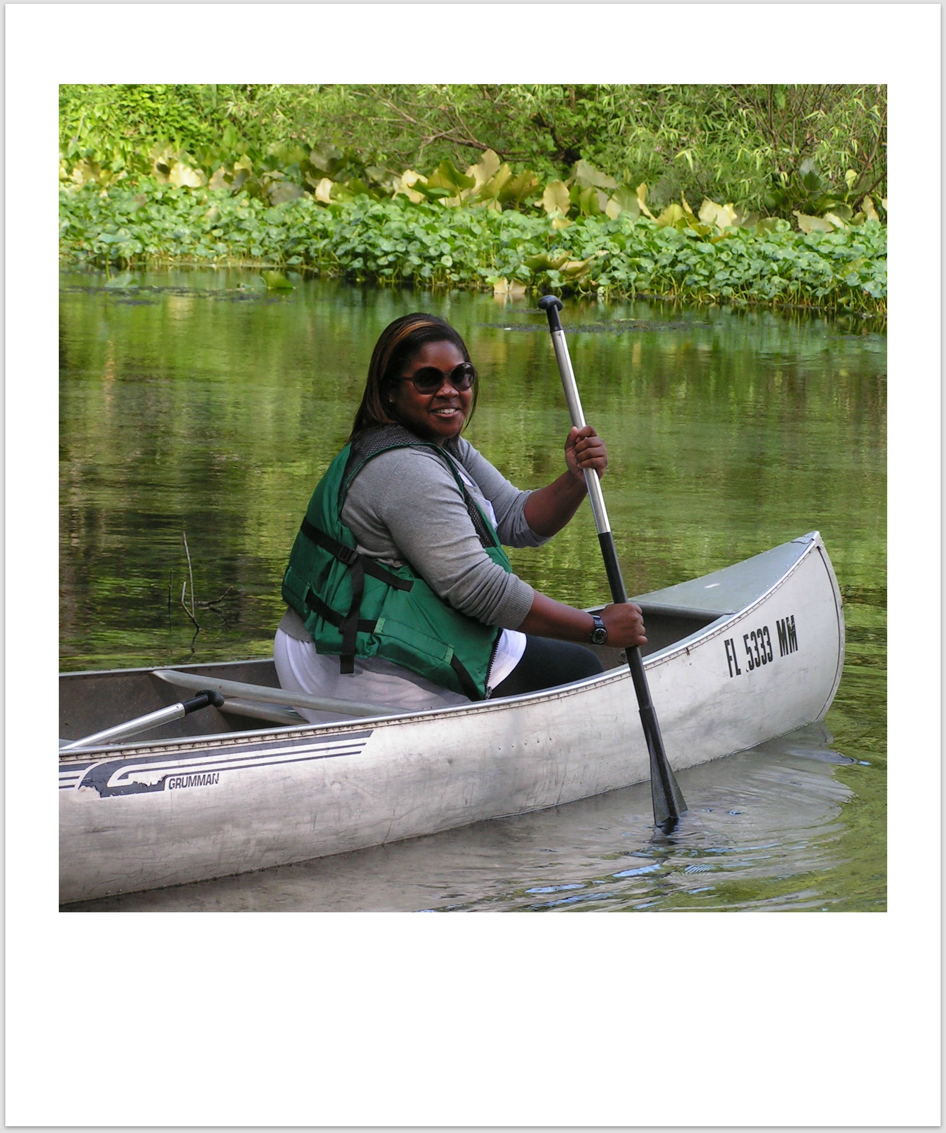 Canoeing down the Wekiva River Kalin's Chronicles:  Travel for the Physically Challenged