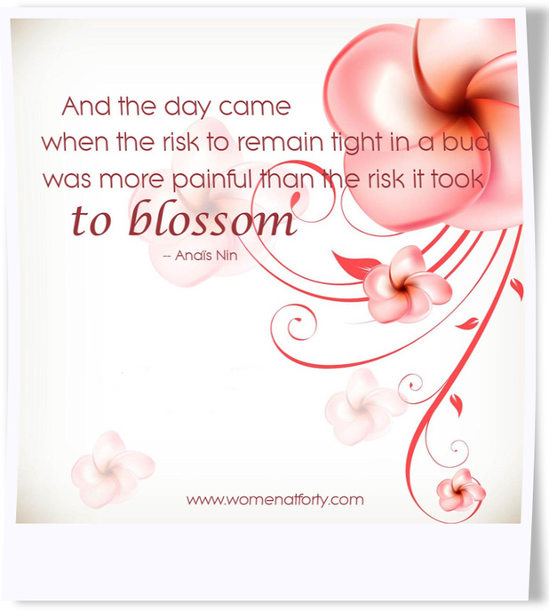 The Risk it Took to Blossom