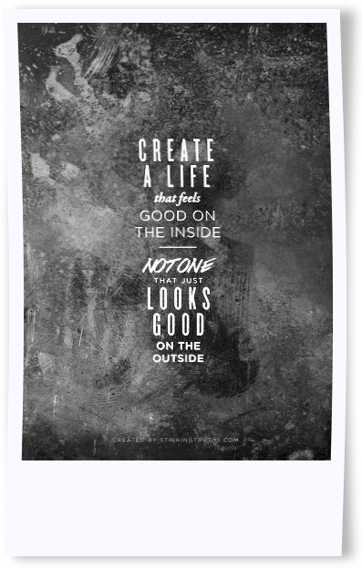 create a life Heres to an awesome 2013!