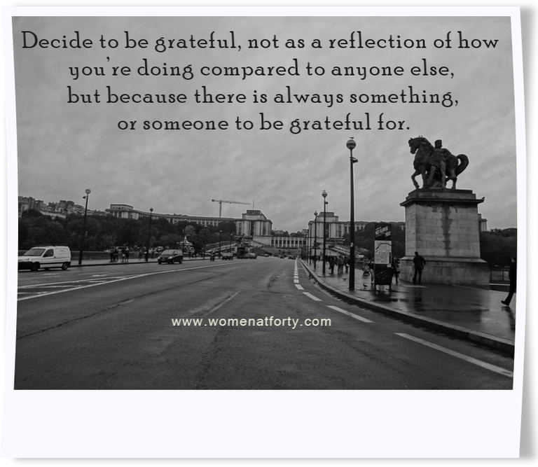 Decide to be grateful - 2